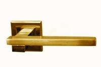 Ручка дверная «Оберег» Z6077/ZR09 матовое золото.
